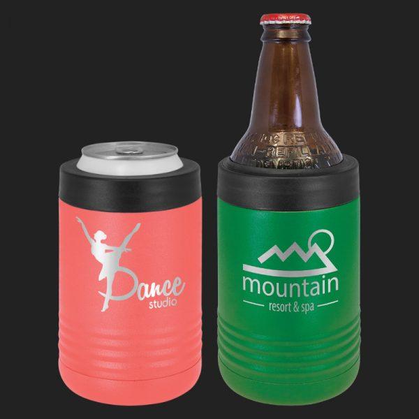 Beverage Holder (Stainless Steel) Holds Cans or Bottles
