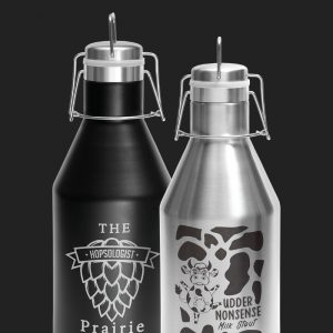 JDLGR64n Growler 64oz Options