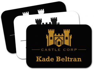 """NT-MD1030 - Classic 2"""" x 3"""" Name Tag"""