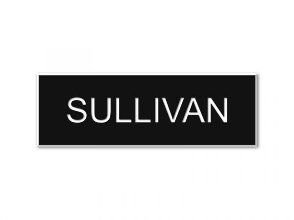 """Military-style Name Tag 1"""" x 3"""""""